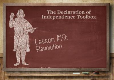 Lesson #19: Revolution