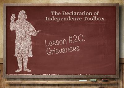 Lesson #20: Grievances